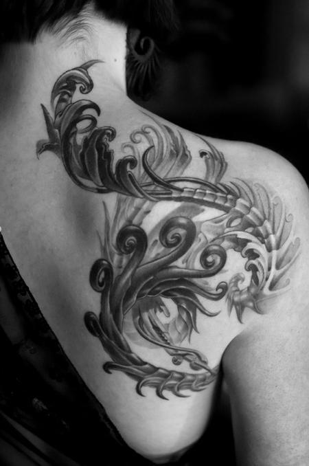 Tattoos - Organic Fractal - 70050